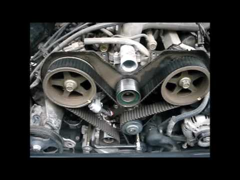 Toyota Timing Belt, Water pump, thermostat replacement on a