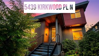 5439 Kirkwood Pl N l Real Estate Video l Seattle, Washington