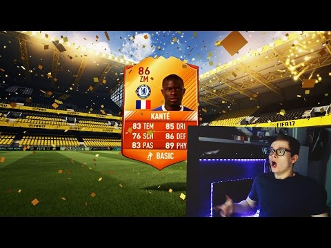 FIFA 17: BEST MOTM PACK OPENING OF MY LIFE! WALKOUT! 🔥⛔️ - U