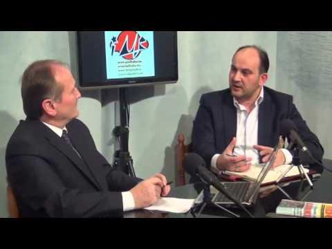 Ethem Kışlalı,Brüksel Gündemi'nde Cinal'ın sorularını yanıtladı