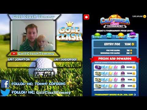 Golf Clash tips, California Classic tournament - Starts November 6th