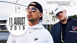TOP 20 Deutschrap CHARTS 11. August 2019