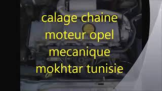 calage distribution opel diesel 2 2 16v   mecanique mokhtar tunisie