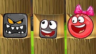 - КРАСНЫЙ ШАР НАПАЛ НА ЗОМБИ ПРОТИВ РАСТЕНИЙ Несносный Шарик Plants vs zombies Red Ball 4 Мультик дети