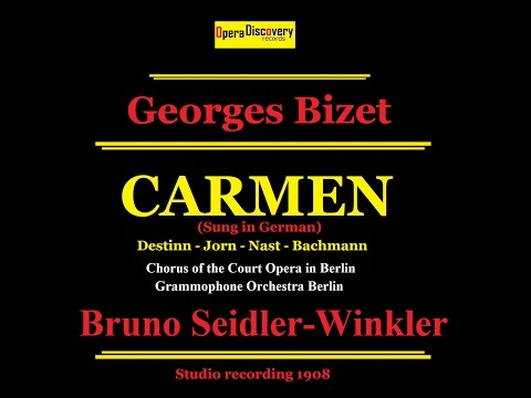OPERA DISCOVERY Carmen by Georges Bizet Remastered Sound (sung in German)