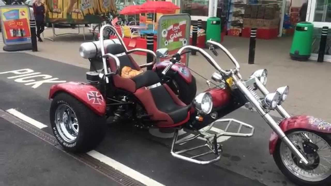 vw trike red baron youtube