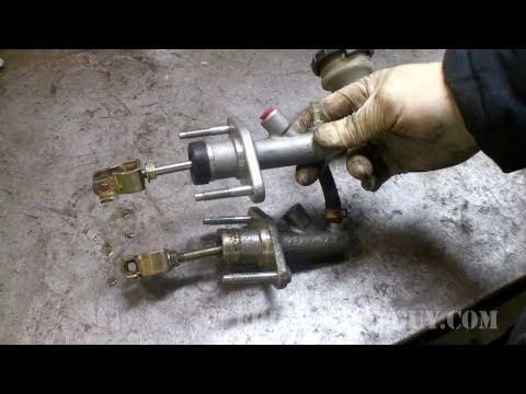 95 honda accord engine diagram 13 pin trailer plug wiring how to replace clutch hydraulics civic ericthecarguy youtube