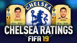 FIFA 19 | CHELSEA RATINGS PREDICTION - Przewidywane oceny!
