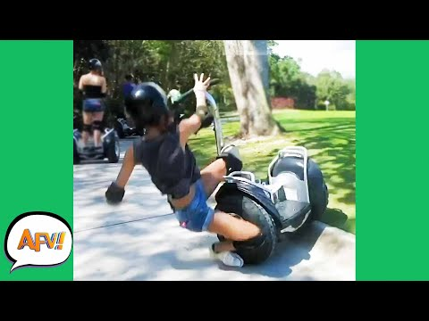 FAILURE Is The ONLY Seg-WAY ! 😂 | Funny Videos | AFV 2020