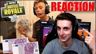 PAIN reagiert auf 500€ von KREDITKARTE FÜR FORTNITE *ausgegeben* PRANK!!! | BEASTLIKE