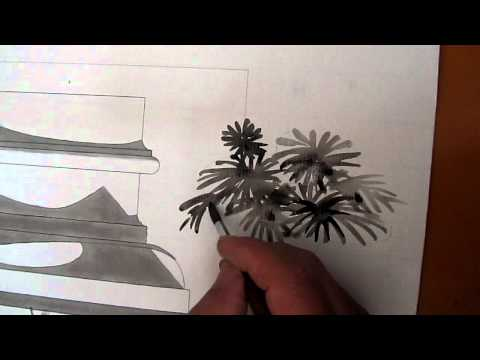 Hướng dẫn vẽ cây mực nho _clip6
