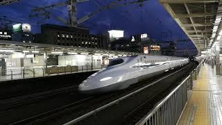 浜松駅新幹線通過③@2019.10.3