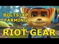 Ratchet & Clank - Easy Bolt Farming And Weapon Leveling