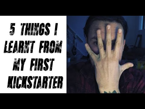 5 Things I Learned From Kickstarting My First Comic.