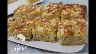 Bademli Tereyagli Alman Keki I  Butter Kuchen TarifiI Ramazan tatifleri