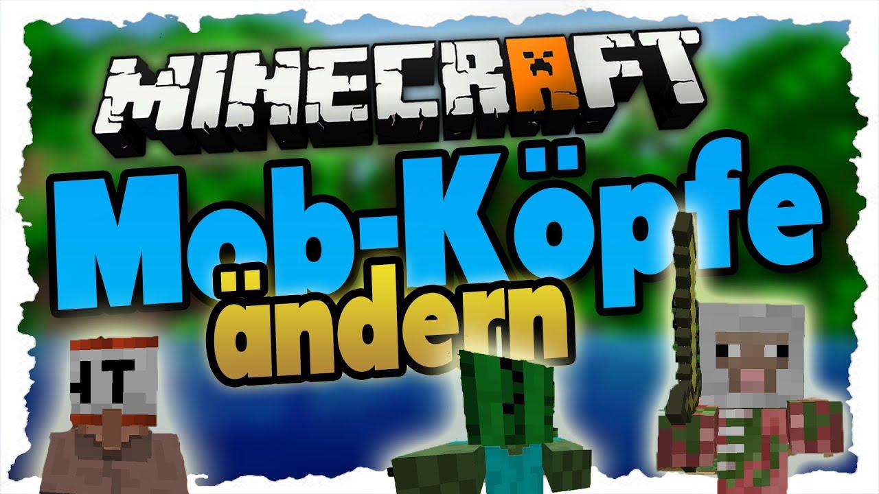 MINECRAFT MobKöpfe Anpassenändern Tutorial Deutsch Villager - Minecraft wiki spielerkopfe