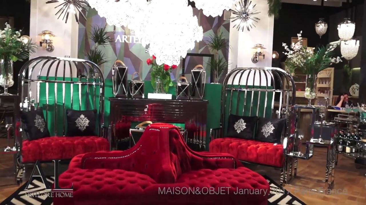 Artelore maison objet january 2017 paris youtube for Artelore home