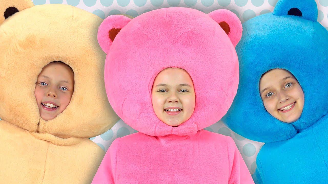 Песня и Караоке - 10 МЫШАТ - Мармеладные Мишки - Песенка считалочка для детей Три медведя