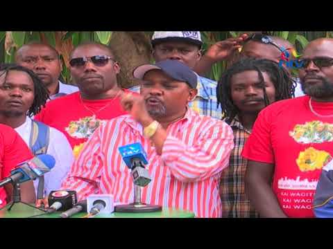 Nairobi business community members emerge to counter protesters