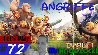 Let's Play Clash of Clans #72 - Angriffe der Clan-Member! - COC [Mobil, HD+, deutsch]
