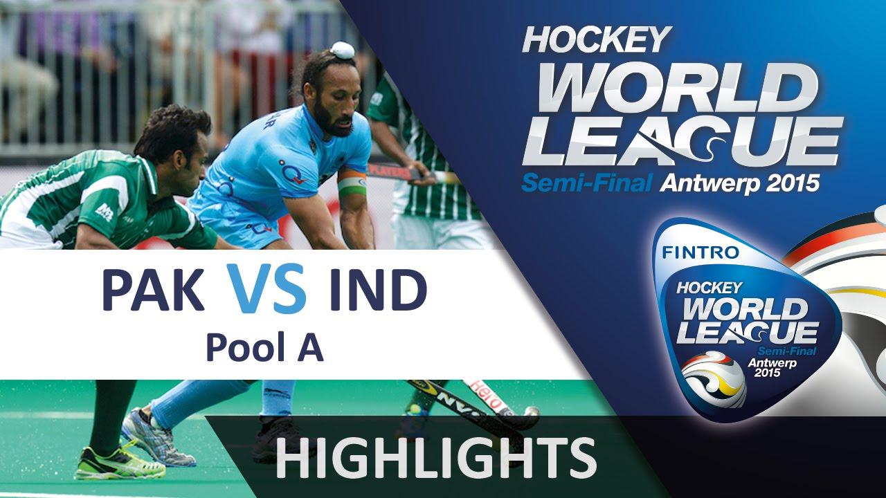 Pakistan v India Match Highlights - Antwerp Men's HWL 2015