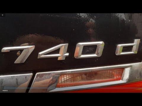 F01 BMW 7 Series 740d M Sport