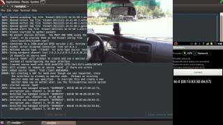 Wardrive with Backtrack 5 and Android Phone GPS using Kismet