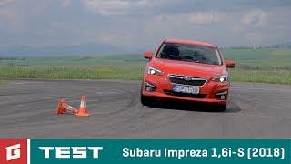 Subaru Impreza 1,6 I-S (2018) - Test - Garaz.Tv