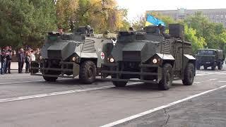 Военная техника и парад на День защитника Украины - Николаев (14.10.17)
