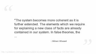 William Whewell Quotes