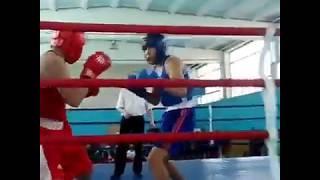 Сандибеков Адилжан (Новопавловка) - ЧЕМПИОН областного турнира по боксу-2018 в Костанае