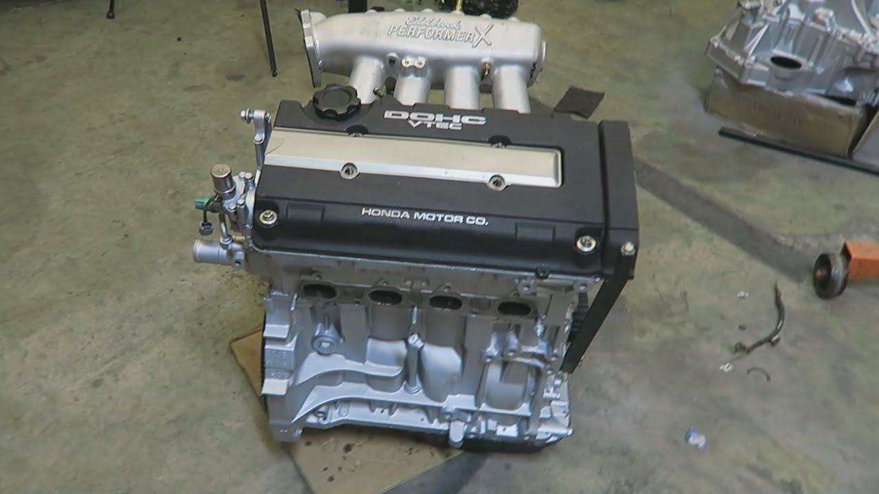 Ebay B20 Build Looking Nice! (Engine Assembled)