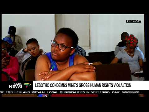 Lesotho Condemns Gross Human Rights Violation By SMD Mine