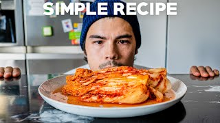 Easiest Homemade Kimchi and Kimchi Fried Rice Recipe