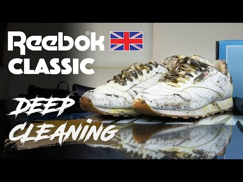 Reebok Classic Deep Cleaning With Jonny Bubbles!