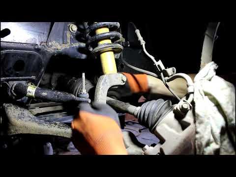 Замена сальника переднего привода и масла в переднем редукторе на Chevrolet TrailBlazer 4,2 Шевроле