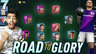 Pes 20 Mobile Road To Glory #07 | 4-2-2-2 Formation