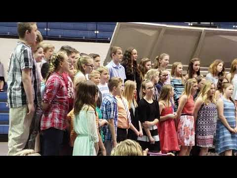 Cole Camp middle school concert
