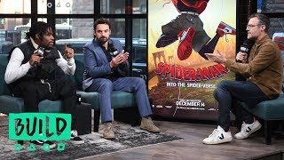 "Jake Johnson & Shameik Moore Discuss Their Roles In ""Spider-Man: Into The Spider-Verse"""