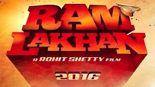 RAM LAKHAN Official Trailer First Look 2016