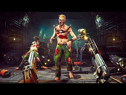 ATOMIC HEART Gameplay Trailer (New FPS Soviet-Union Game 2019)