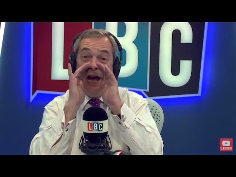 The Nigel Farage Show: Donald Trump New Travel Order. Live LBC. 6th March 2017