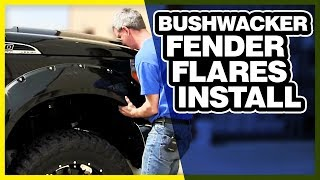Bushwacker Fender Flare Install | Quickly Upgrade Your Truck w/ Style!