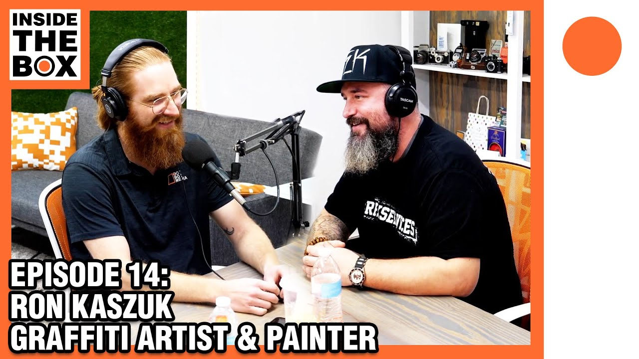 Ep 14 - Inside The Box w/ Ron Kaszuk (Graffiti Artist / Painter) #REKSERVICES