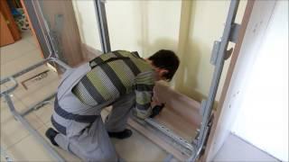 как самому сделать кровать трансформер шкаф