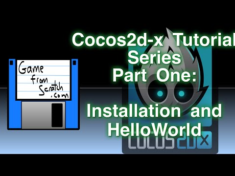 Cocos2d-x Tutorial Series Part One: Installation and Hello World