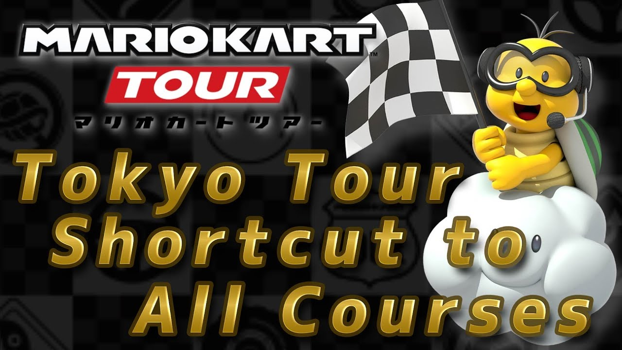 List Of Courses And Shortcuts For All Courses Mario Kart