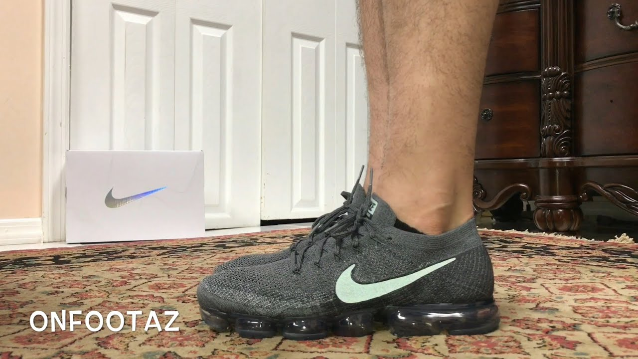 Nike Vapormax Grey On Feet