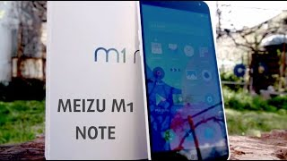 MEIZU M1 Note (FHD) video review