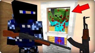 Он держался как мог [ЧАСТЬ 49] Зомби апокалипсис в майнкрафт! - (Minecraft - Сериал)